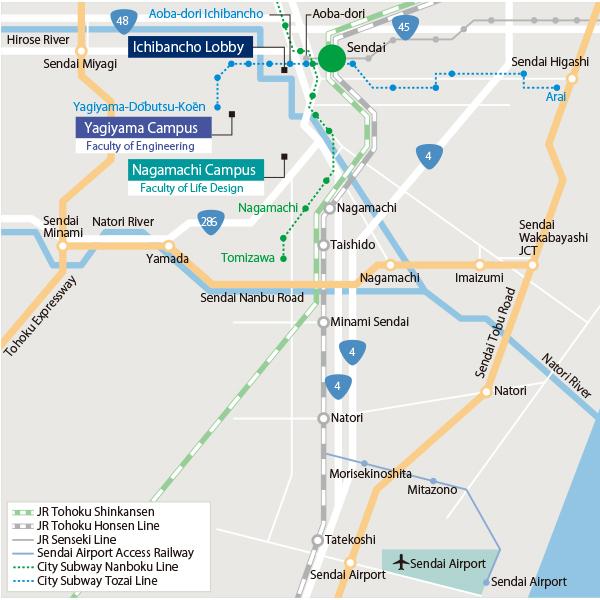 About Tohtech Access Map