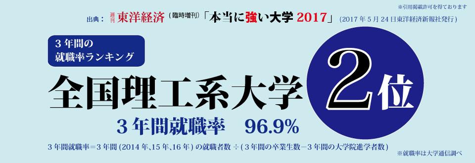 週刊東洋経済本当に強い大学2017