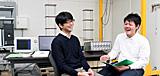 船木尚己准教授×4年生 三浦隆史さん(宮城県多賀城高等学校)
