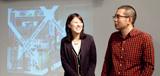 篠原良太 准教授×4年生 米森美香子さん(秋田県立大国際情報学院高校出身)
