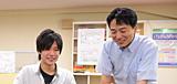 松田勝敬 先生 ×4年生 工藤駿介さん(秋田県立由利工業高等学校出身)