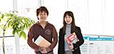 佐藤(夏)研究室:佐藤夏子 准教授×4年生 中里勇樹さん(仙台育英学園高等学校出身)