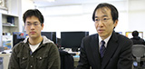 河野 公一 研究室:河野 公一 先生×4年生 青山 皓 さん