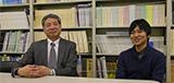 高橋 敏彦 研究室:高橋 敏彦 先生×4年生 小野 智樹 さん