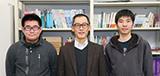 穴澤 正宏 研究室:穴澤 正宏 先生 × 4年生 佐々木 厳 さん・4年生 松本 渉太 さん
