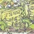 第12回 IZUMI&若林木の会 木版画展