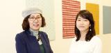 盧 慶美 研究室:盧 慶美 先生 × 4年生 齋藤 碧 さん