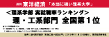週刊東洋経済 「本当に強い理系大学」