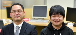 角田 裕 研究室:角田 裕 先生 × 4年生 千葉 翔也 さん