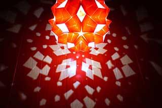 """<!--font color=""""red"""">【開催中止】</font-->折り紙照明展"""