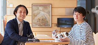 室山真徳 研究室:室山 真徳 先生 ✖ 佐竹 佑太さん